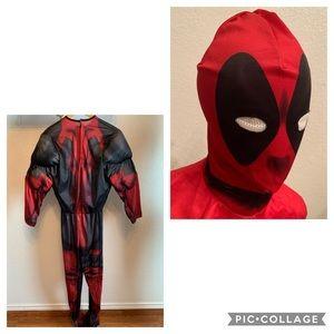 Deadpool marvel costume small adult
